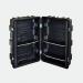 Podium-Case Koffertheke mit Deckelplatte, Einlegeböden und Grafik-Rollpaneel
