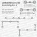 Limbo Banner-Messestand Kit 5 Maße