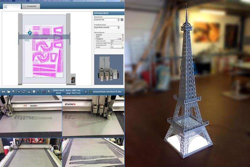 Eiffelturm: höchste Flexibilität bei individuellen Kundenwünschen Image