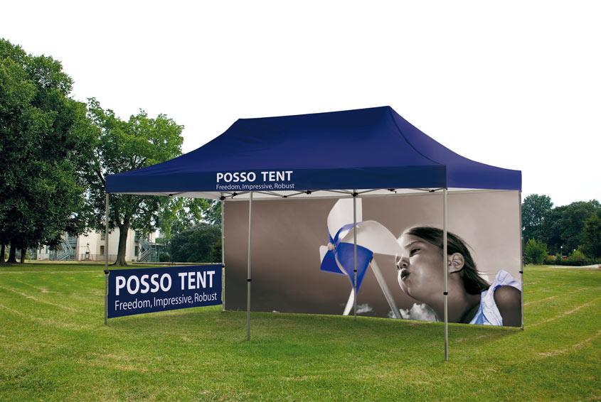 Das Faltzelt von posso - Produktneuvorstellung - posso Tent  Image