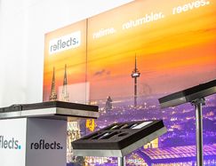 Messedisplay, Messestand texConnect LED