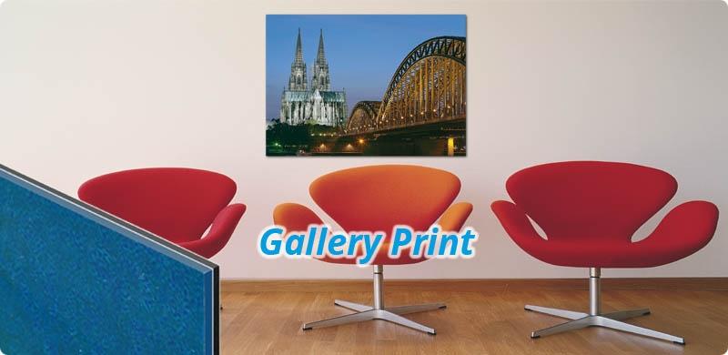 Gallery Print, Ihr Motiv vor Acrylglas