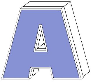 Leuchtreklame Buchstaben Profil 2