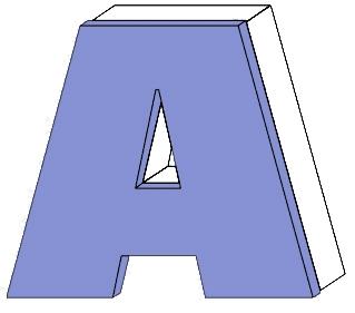 Leuchtreklame Buchstaben Profil 3