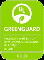 Greenguard Gold Zertifizierung unserer Druckfarben